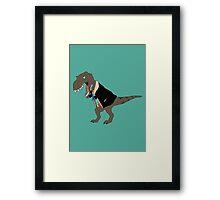 Seventiesaurus Rex Framed Print