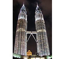The Twin Towers Photographic Print