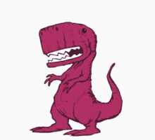 Big Pink Dinosaur by ButcherBrand