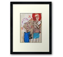 A Call to Love Framed Print