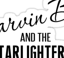 Marvin Berry & The Starlighters Sticker