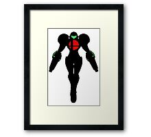 Samus double cannon Framed Print