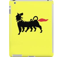 Farting Dog !!! (vulgar display of power) iPad Case/Skin