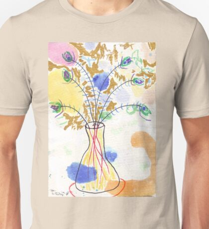 Some Peacock Feathers Unisex T-Shirt