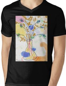 Some Peacock Feathers Mens V-Neck T-Shirt