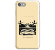 Always A Story iPhone Case/Skin