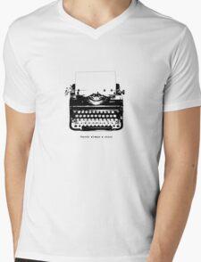 Always A Story Mens V-Neck T-Shirt