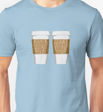 Morning Coffee Unisex T-Shirt