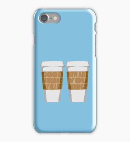 Good Morning My Heart iPhone Case/Skin