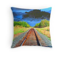 Across the Prairie Land Throw Pillow