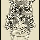 Cupcake owl by France Mansiaux