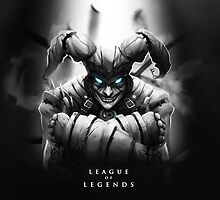 League of Legends - Shaco by leagueofposters