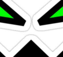 Green Eyed Monster Sticker