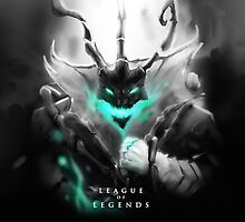 League of Legends - Thresh by leagueofposters