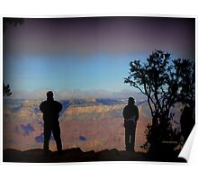 Photographing the Grand Canyon Poster