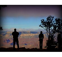 Photographing the Grand Canyon Photographic Print