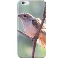 Brush Cuckoo  iPhone Case/Skin
