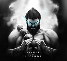 League of Legends - Udyr by leagueofposters