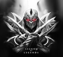League of Legends - Zed by leagueofposters