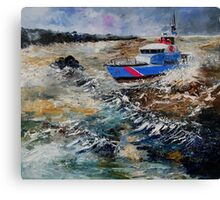 coastguards Canvas Print