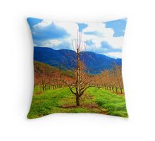 Natural Lines - Buckland Valley, Victoria Australia Throw Pillow