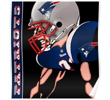 Patriots Nation Ready for the Game Poster