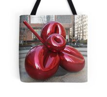 Sculpture and Reflection, Jeff Koons, Artist, Lower Manhattan, New York City Tote Bag