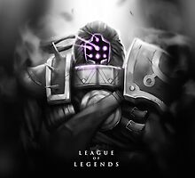 League of Legends - Jax by leagueofposters