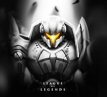 League of Legends - Jayce by leagueofposters