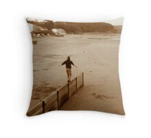 FILL the VOID Throw Pillow