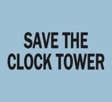 Save The Clock Tower (Dark) T-Shirt