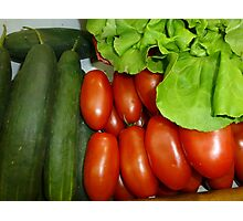 Salad Vegetables.....................French Style Photographic Print