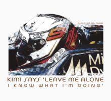 Kimi 2012 F1 by artguy24