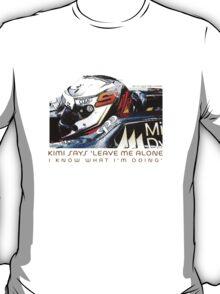 Kimi 2012 F1 T-Shirt
