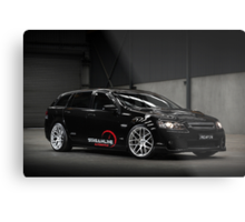 Diane's VE SS Holden Commodore Wagon Metal Print