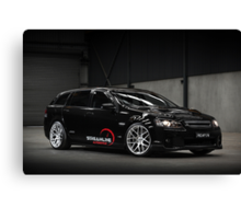 Diane's VE SS Holden Commodore Wagon Canvas Print