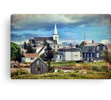 Prospect, Nova Scotia Canvas Print