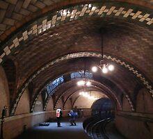 Historic City Hall Subway Station, New York City, Abandoned 1945  by lenspiro
