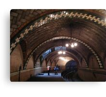 Historic City Hall Subway Station, New York City, Abandoned 1945  Canvas Print