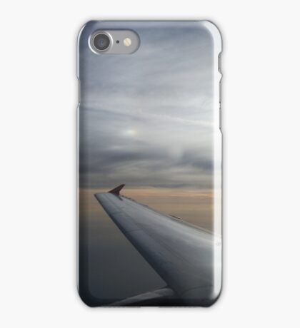Sunrise Over the Ocean from Aeroplane iPhone Case/Skin