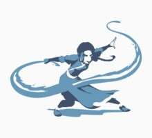 Minimalist Katara from Avatar the Last Airbender Kids Clothes