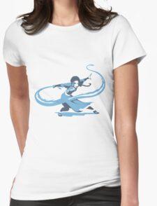 Minimalist Katara from Avatar the Last Airbender Womens Fitted T-Shirt