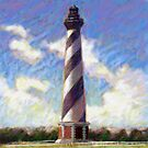 cape hatteras lighthouse by Jim rownd