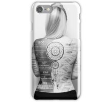 Tattoo Info iPhone Case/Skin