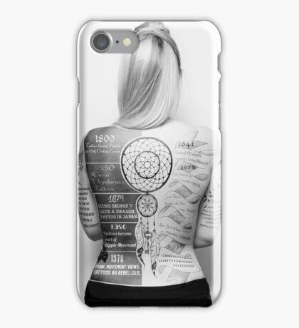 Tattoo Info iPhone Case/Skin