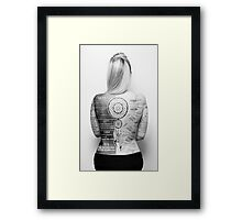 Tattoo Info Framed Print