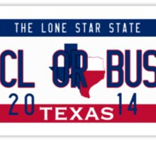 ACL or Bust Sticker