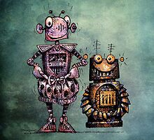 Two Funny Robots by StrangeStore