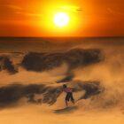 The Race On Sunset by Antoine Dagobert