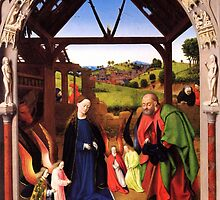 'Birth of Christ' by Petrus Christus  by Legacy1Gallery